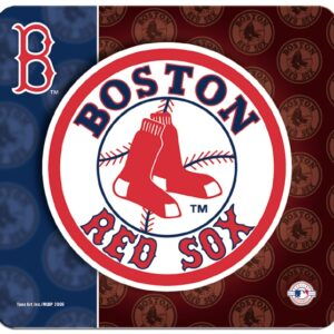 Boston Red Sox Logo Mouse Pad-0
