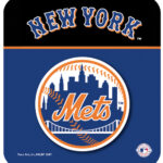 NY Mets Logo Mouse Pad with Header-0