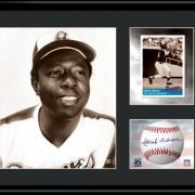 Hank Aaron Lithograph-0