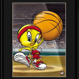 Roundball Tweety 11 x14 Lithograph-0