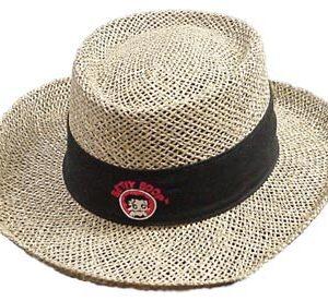 Straw Hat - Betty Boop-0
