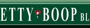 Street Sign - Betty Boop Blvd-0
