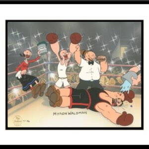 Popeye - Knockout - Hand Painted Cel-0