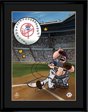 Homerun Popeye (Available For All Mlb Teams)-0