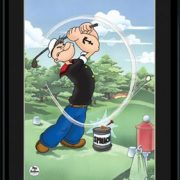 Tee It High - 11x14 Lithograph-0