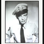 Barney Fife Poster -Signed and Framed-0