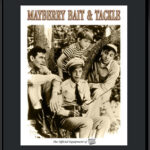 Mayberry Bait and Tackle 11x14 Lithograph-0
