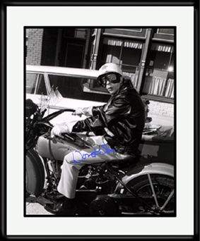 Barney Fife MotorCycle Signed -0