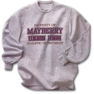 Sweatshirt - Property Of MUH-0