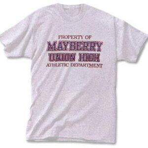 T-Shirt - Property Of May Athl Dept-0