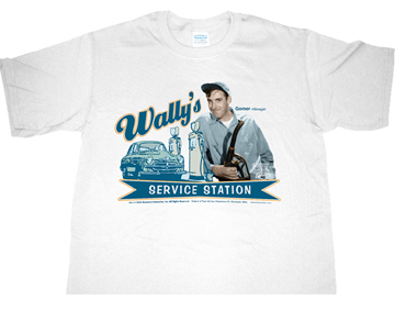 T-Shirt - Wally's Service Station-0