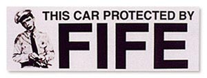 Bumper Sticker - Fife-0