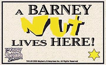 Welcome Mat - Barney Nut-0