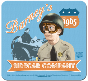 Mouse Pad – Barney's Side Car-0
