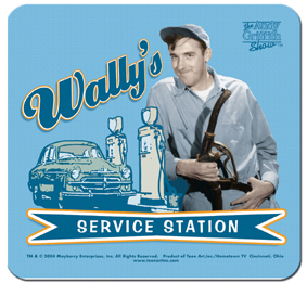 Mouse Pad - Wally's Service Station-0