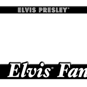 License Plate Holder - #1 Elvis Fan-0