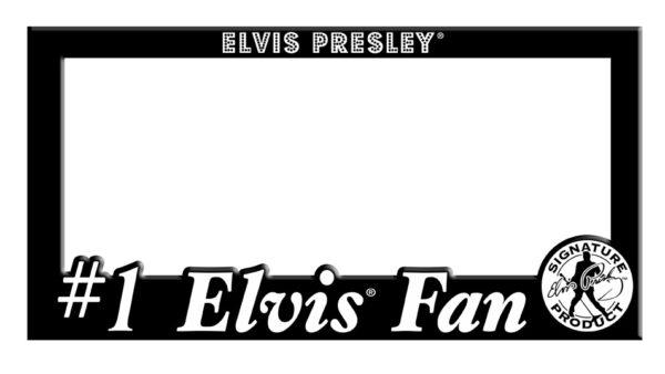 License Plate Holder – #1 Elvis Fan-0