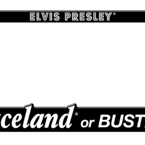 License Plate Holder -Graceland or Bust-0