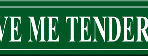 Street Sign - Love Me Tender Lane-0