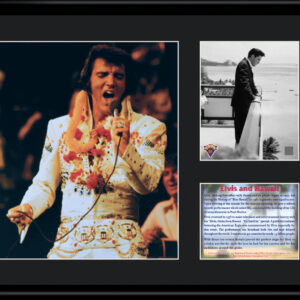 Elvis and Hawaii - 11x14 Lithograph-0