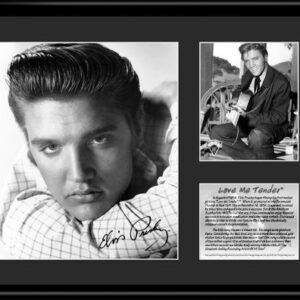 Elvis Love Me Tender -11x14 Lithograph-0