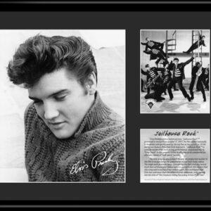 Elvis Jailhouse Rock - 11x14 Lithograph-0