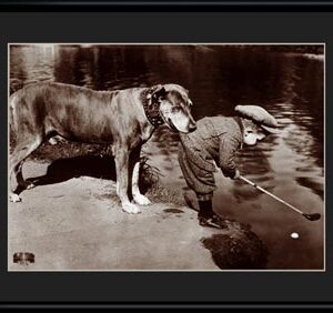 Lithograph - 11x14 Boy's Best Friend-0