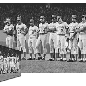Big Red Machine Lineup Canvas-0