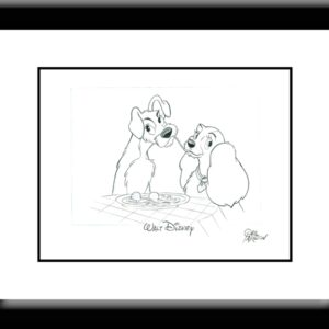 Lady and the Tramp - Drawing-0