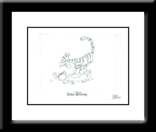 Tigger and Rabbit Drawing-0