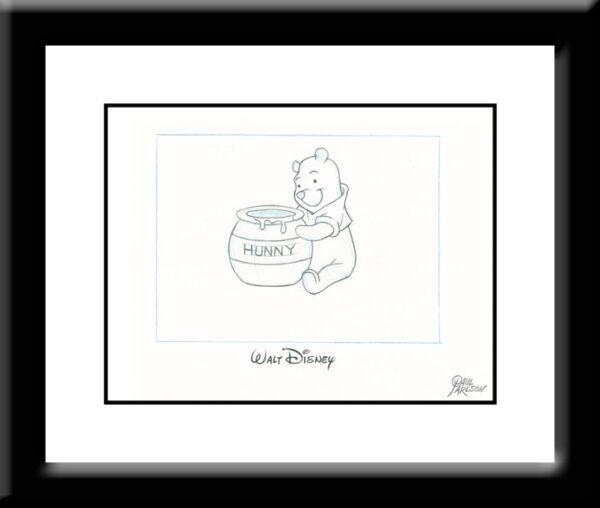 Winnie The Pooh Drawing-0