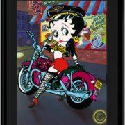 Biker Betty-11x14 Lithograph-0
