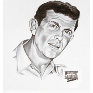 Sheriff Andy Taylor Lithograph-unframed-0