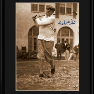 Lithograph - 11x14 Babe Ruth - At The First Tee-0