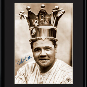 Lithograph - 11x14 Babe Ruth - King of Baseball-0