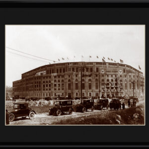 Lithograph - 11x14 Yankee Stadium-0