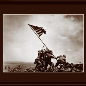 Lithograph -11x14 Iwo Jima-0