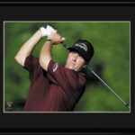 Lithograph -11x14 Phil Mickelson-0