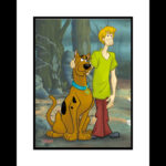 Scooby and Shaggy Best Friends 16x20 Giclee-0