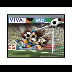 Taz Soccer 16 x20 Giclee-0