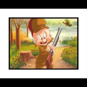 Turkey Hunting Elmer 16x20 Giclee-0