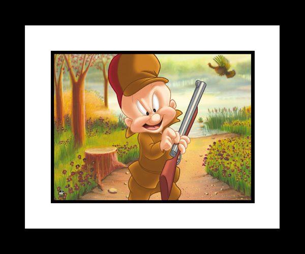 Turkey Hunting Elmer 16×20 Giclee-0