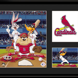 St. Louis Cardinals Looney Tunes 11x14 Lithograph-0