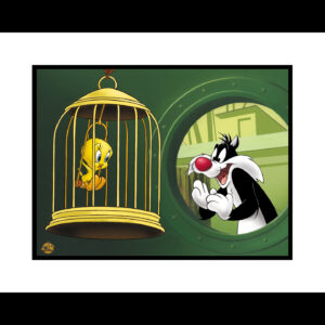 Bird in a Guilty Cage 16x20 Giclee-0
