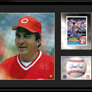 Johnny Bench 11x14 Lithograph with facsimile signature-0