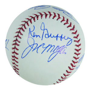 Big Red Machine Starting 8 Signed Baseball-0