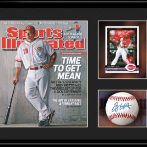 Joey Votto Sports Illustrated 11x14 Lithograph-0