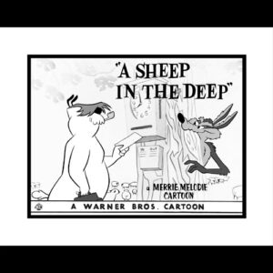 A Sheep In the Deep - 16x20 Lobby Card Giclee-0