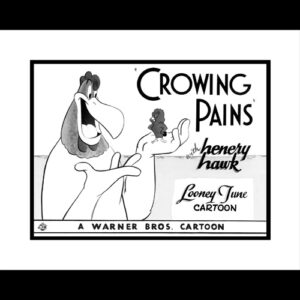 Crowing Pains with Foghorn 16x20 Lobby Card Giclee-0