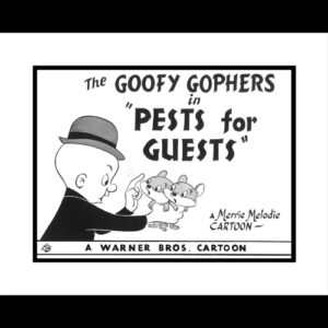 Goofy Gopher 16x20 Lobby Card Giclee-0